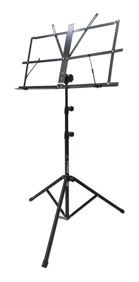 Pedestal Atril P/partituras Negro Acero