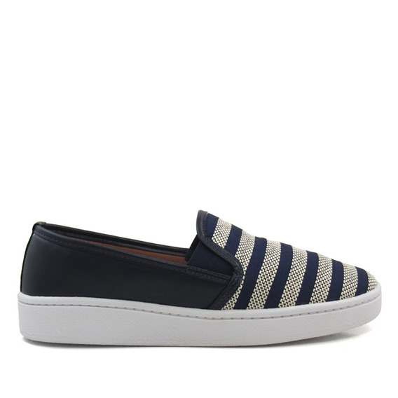 Tênis Slip On Feminino Olfer Shoes 2010 Listra