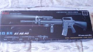 Fuzil M16a1 Rifle Airsoft Spring Mola 6mm Usado