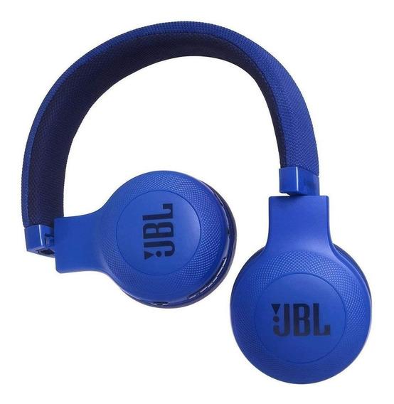 Fone de ouvido sem fio JBL E45BT blue
