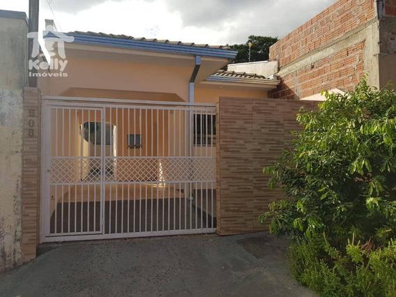 Casa Com 2 Dormitórios Para Alugar, 73 M² Por R$ 750,00/mês - Jardim Vila Real - Presidente Prudente/sp - Ca0649