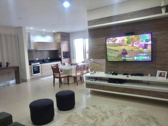 Casa À Venda, 280 M² Por R$ - Condomínio Bella Citta Fazenda Rodeio - Mogi Das Cruzes/sp - Ca0654