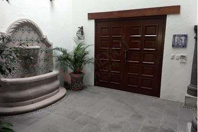 Casa En Renta/fracc. Hacienda El Campanario/querétaro.