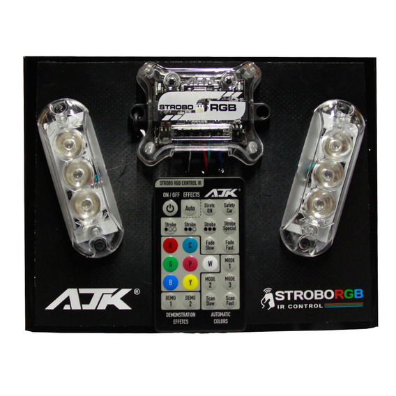 Strobo Rgb Ir Control | Ajk Sound + Cabo Technoise 33mm 10m