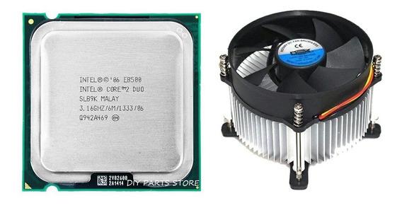 Kit Processador Core 2 Duo E8500 3.16ghz + Cooler Dex