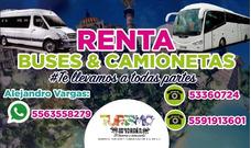 Renta De Camionetas Ejecutivas Y De Turismo