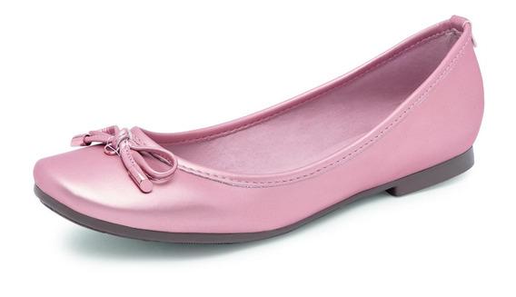 Ballerina Para Dama Color Oro Rosado 22-26
