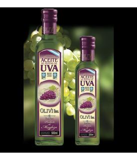 Aceite De Uva Marca Olivi - 12 Botellas De 250ml C/u
