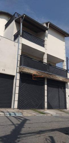 Sobrado Para Alugar Por R$ 3.200,00/mês - Jardim Lajeado - São Paulo/sp - So0327