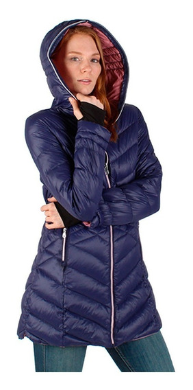 Chamarra Mujer Greenlander Pol5834xl Moda Pluma Ganso