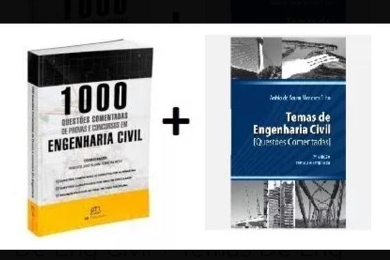1000 Questões Comentadas De Eng + Temas De Eng Civil
