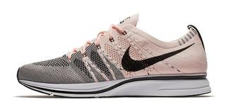 Tenis Nike Flyknit Trainer Sunset Tint Blanco/rosa/negro
