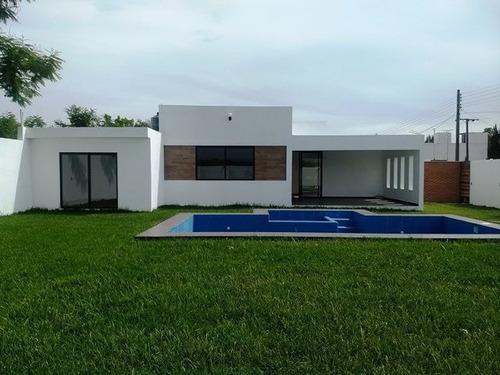 Imagen 1 de 22 de ¡¡¡gran Preventa!!! Casa Con Alberca Y 450m2 De Terreno Ayal