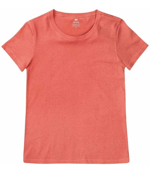 Blusinha Camiseta Basica Feminina Hering Original Loja 0241
