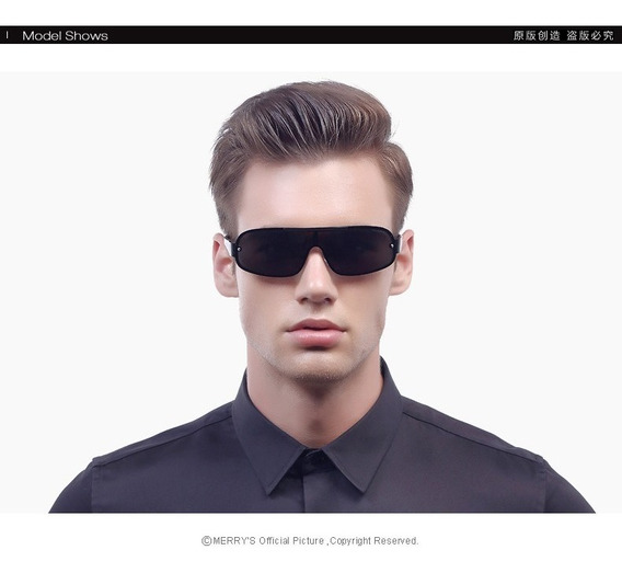 Óculos De Sol Polarizado Masculino Merry