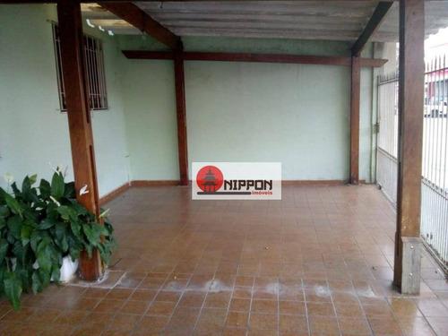Casa Residencial À Venda, Vila Aliança, Guarulhos. - Ca0074