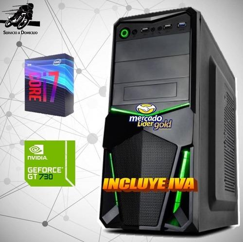 Computador Gamer Intel Core I7 9na 1tb 16gb Gt-730 4gb Cpu