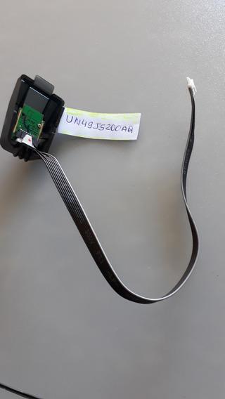 Botão Power + Sensor Remoto Tv Samsung - Un49j5200ag