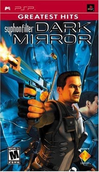 Jogo Syphon Filter Dark Mirror Psp Mídia Física Frete Grátis