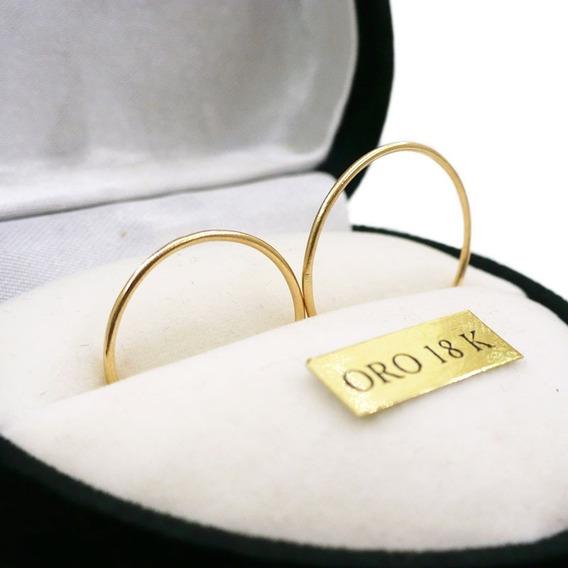 Alianzasoro 18k Hilos Oro Anillos Para Casamiento Con Grabad