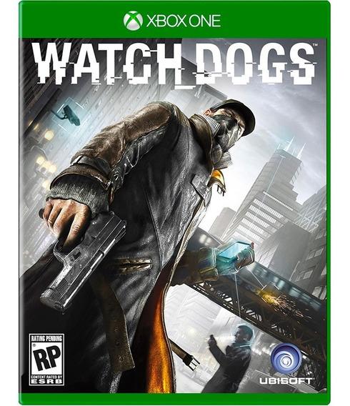 Watch Dogs Xbox One Mídia Física Novo Lacrado Rj