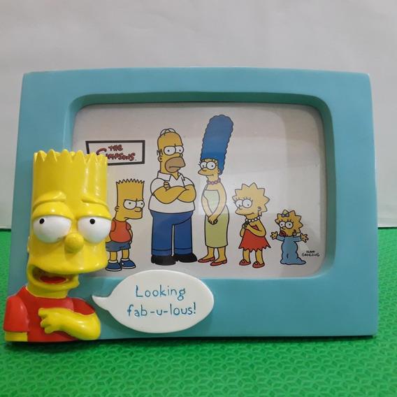 Porta Retrato Simpsons Homer Margi Bart Lisa Mag Nj Croce