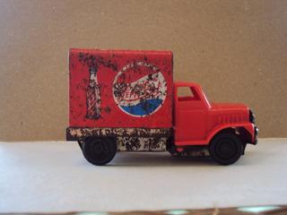 Camión Repartidor De Pepsi Cola. Plástico Y Hojalata
