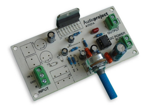 Modulo Amplif Subwoofer 20 W 12 V Con Filtro - Audioproject