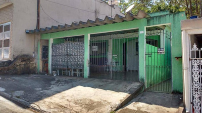 3 Casas À Venda Por R$ 350.000 - Vila Mercedes - Mauá/sp - Ca0084