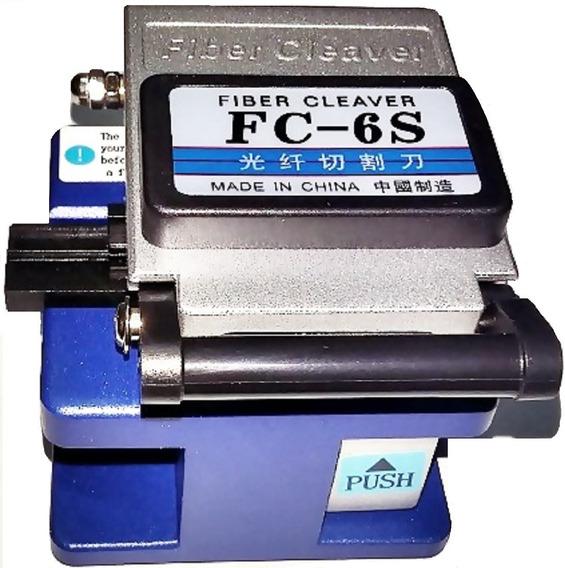 Clivador Cleaver Para Cabos De Fibra Óptica - Fc-6s + Case