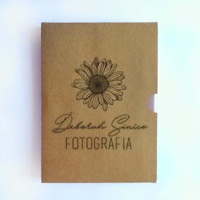 50 Un Luva Case Dvd Blu-ray Personalizada Para Fotógrafo