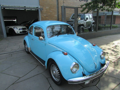 Vw/fusca 1500, Motor Novo (1.600), Placa Preta