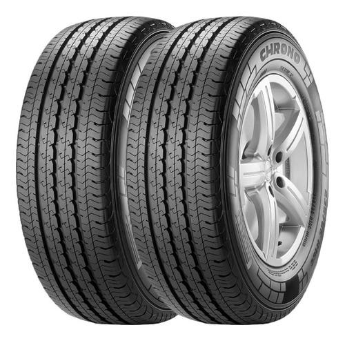 Combo X2 Neumaticos Pirelli 175/65r14 Chrono 90t
