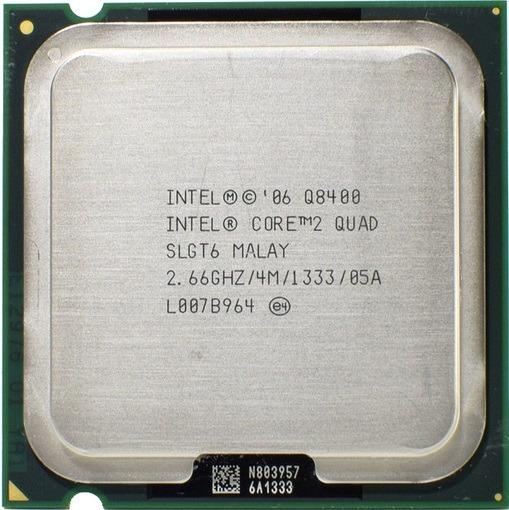 Processador Q8400 Core2quad Cpu Temos Q6600 Xeon X5450 ¨