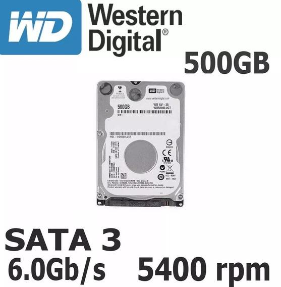 Hd Western Digital 500gb P/ Notebook, Ps3 E Ps4