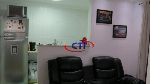 Imagem 1 de 9 de Apartamento  Residencial À Venda, Vila Metalúrgica, Santo André. - Ap0896