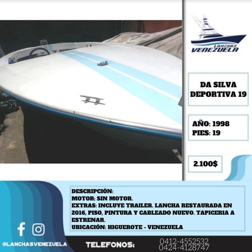 Lancha Da Silva Deportiva 19 Lv383