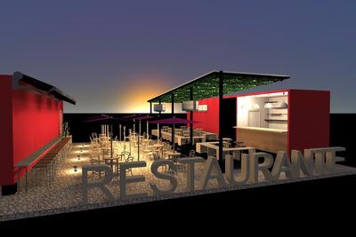 Contenedores Restaurante Bar Vendo Permuto Por Apto O Carro