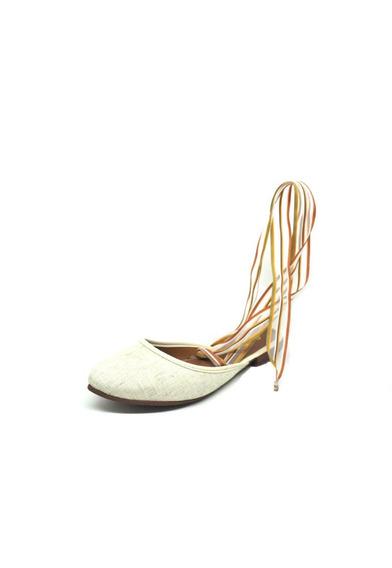 Sapatos Femininos Sapatilha Espadrilhes Juta Areia Dani K