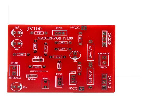 2 Placas Para Montar Amplificador 100w À 1000w C5200 /a1943