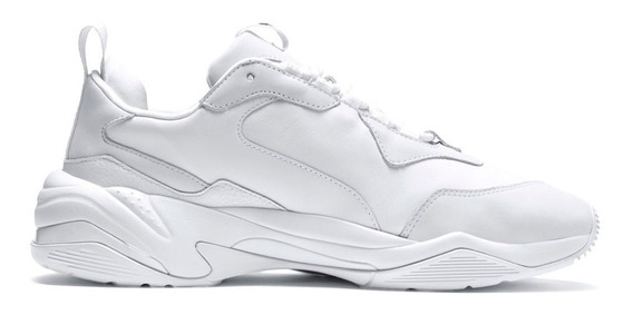 Zapatillas Puma Thunder Leathers Spectra Triple White