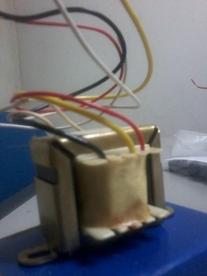 Transformador 6 V 600 Ma Entr 110 220 V Etq50 Kit = 10pç