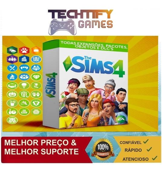 The Sims 4 + Todas Expansões - Pc Envio Digital