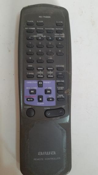 Controle Original Som Aiwa Rc-tn999 Nsx-999