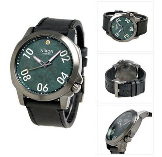 Nixon Ranger Green-dial A466206900