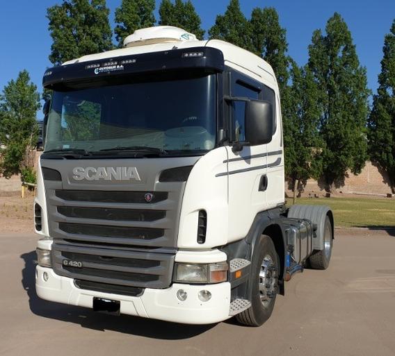Scania G420 Manual Con Retarder. 4x2. Tractor