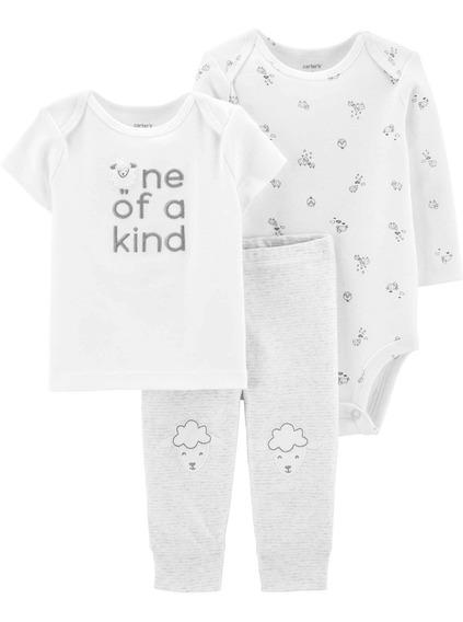 Carters Set 3 Piezas Bebé Nenas
