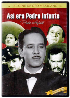 Dvd Pelicula Documental Asi Era Pedro Infante Nueva Sellada