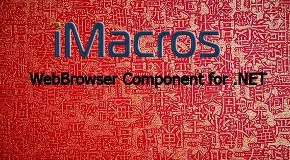 Imacros Webbrowser Component For .net 11.1.4.95