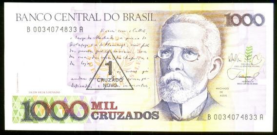 1 Cruzado Novo 1987 Brasil Veja + Cédulas Notas Antigas